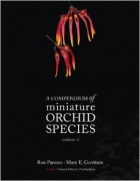 A compendium of miniature orchid species book cover
